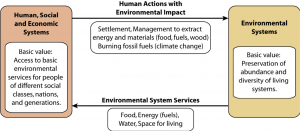 Loop Diagram of Socio-ecological systems